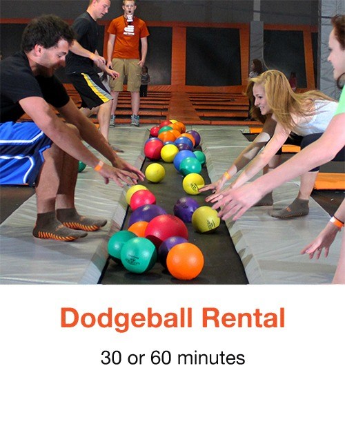 AirTime Trampoline Dodgeball Rental Graphic