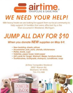 AirTime Trampoline Donations