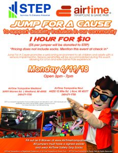 Westland and Novi - Jump for a Cause June 11