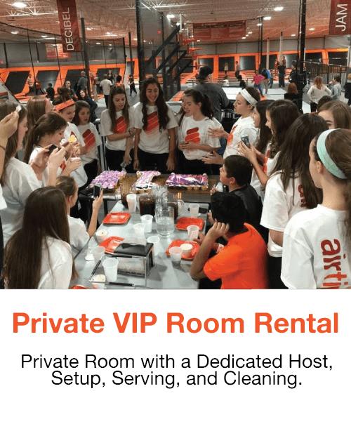 AirTime Trampoline VIP Room Rental