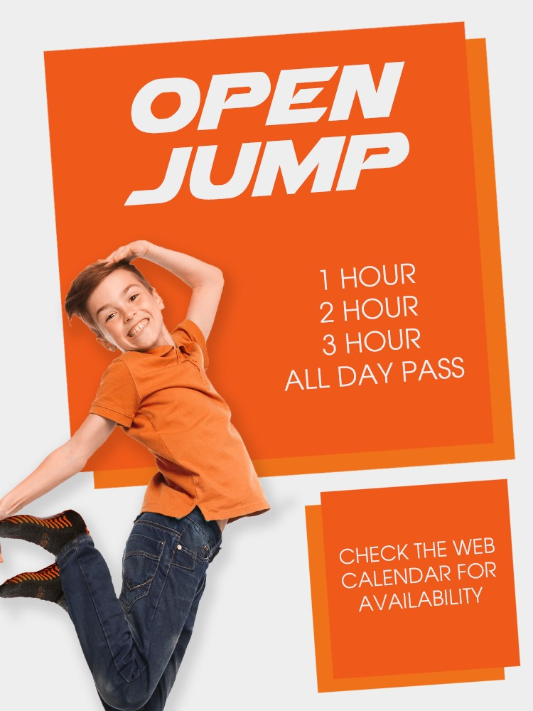 AirTime Trampoline Open Jump Offer