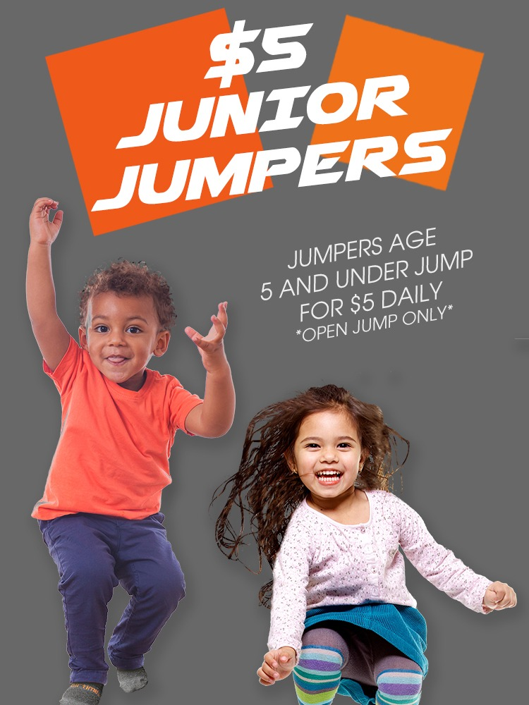 AirTime Trampoline Junior Jumpers Offer